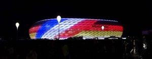 Deutsch-französische Freundschaft - Fußball-Länderspiel in München