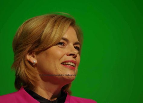 Julia Klöckner, die schweigsame Bundesministerin (CDU)