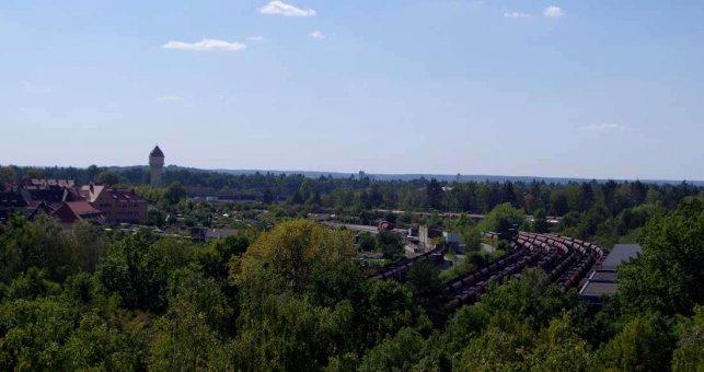 Rangierbahnhof Nürnberg - von der Messe aus
